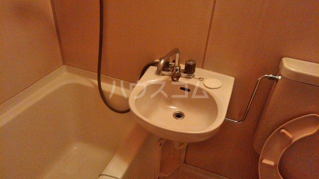 グリーンルーフ妙音 203号室の洗面所