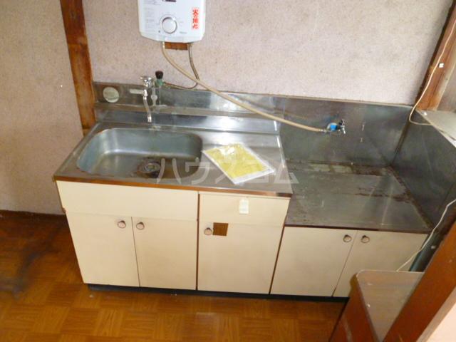 藤コーポ 201号室のキッチン
