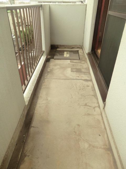 エミール1st 403号室のバルコニー
