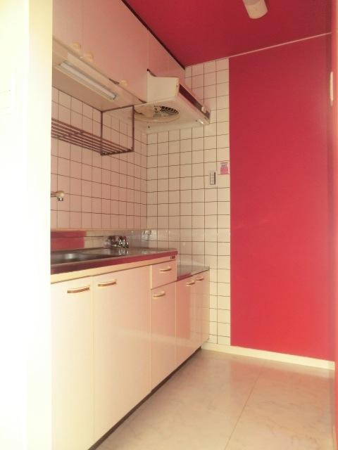 エミール1st 403号室のキッチン