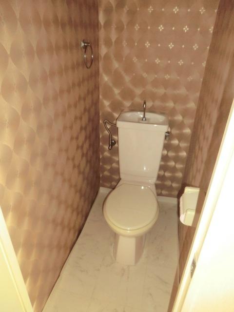エミール1st 403号室のトイレ