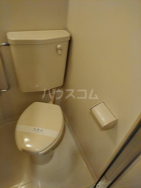 ビラエクセル21 101号室のトイレ
