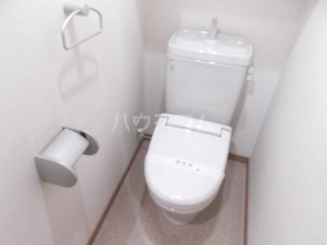 ユーズアーク明大前 102号室のトイレ