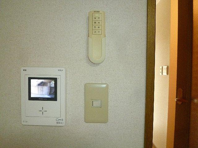 アムールプルミエ A棟 103号室のセキュリティ