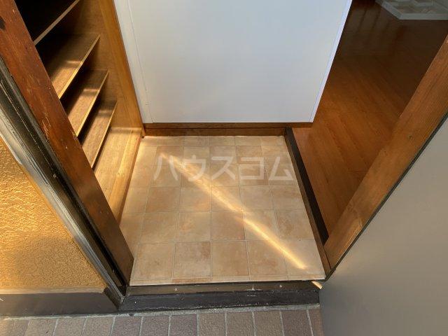 セブンハイツ 201号室の玄関