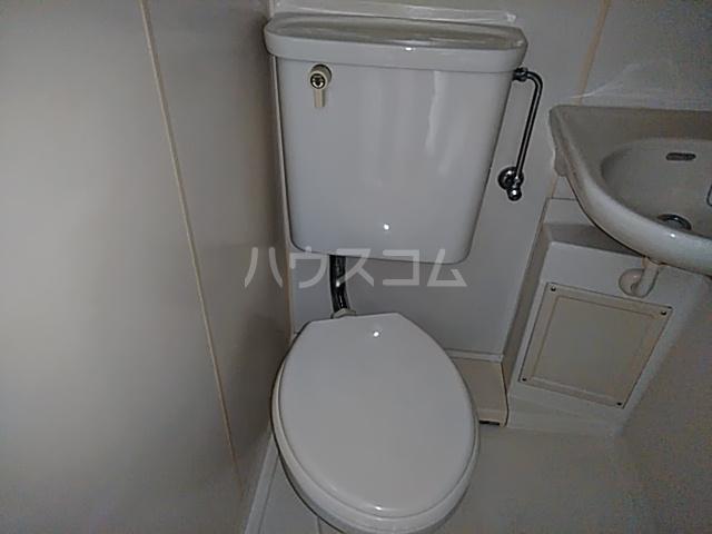 ハニリリカⅢ 805号室のトイレ