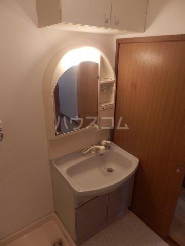 フローラ相川 206号室の洗面所