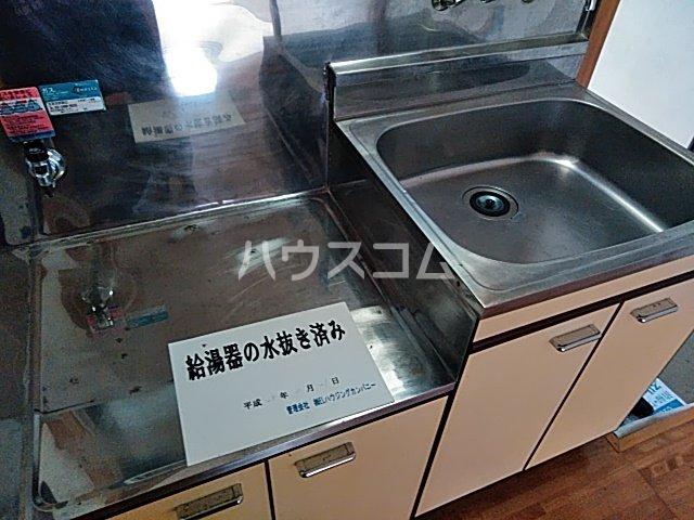 竹内コーポ 201号室のキッチン