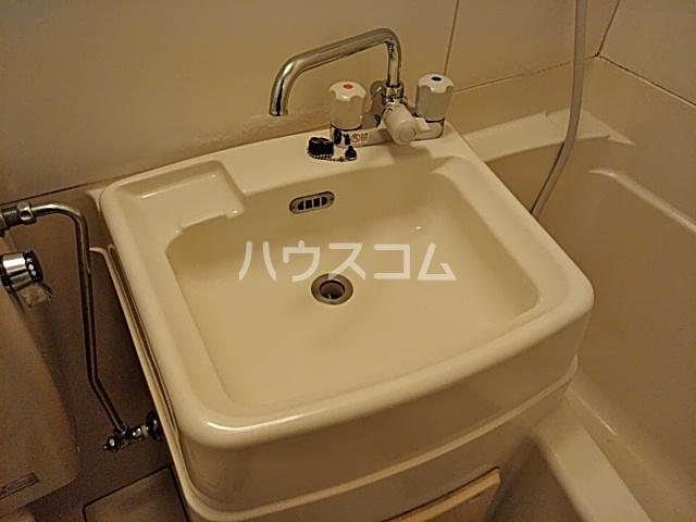 竹内コーポ 201号室の洗面所