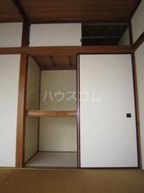 白樺荘 204号室の収納