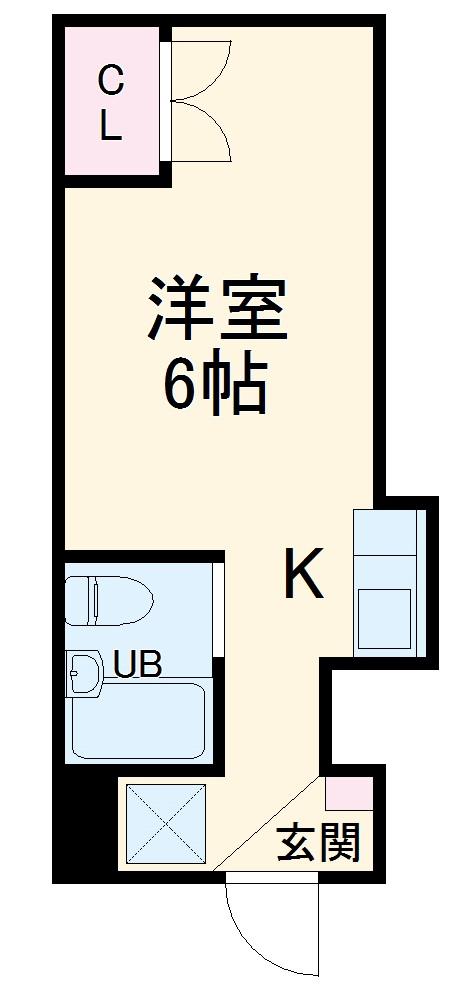 ドーム桜山 4D号室の間取り