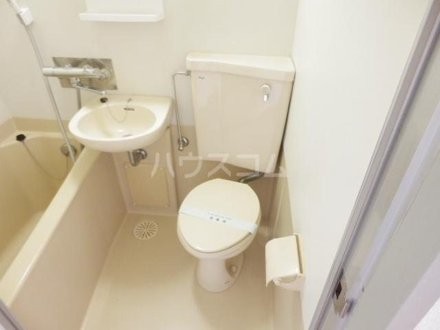 ハイツトーカンドー 103号室のトイレ