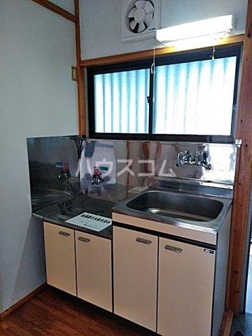 竹内コーポ 202号室のキッチン