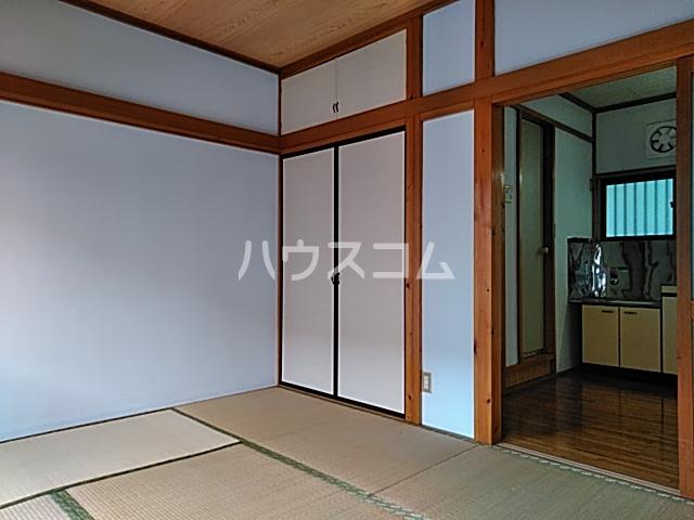 竹内コーポ 202号室のベッドルーム