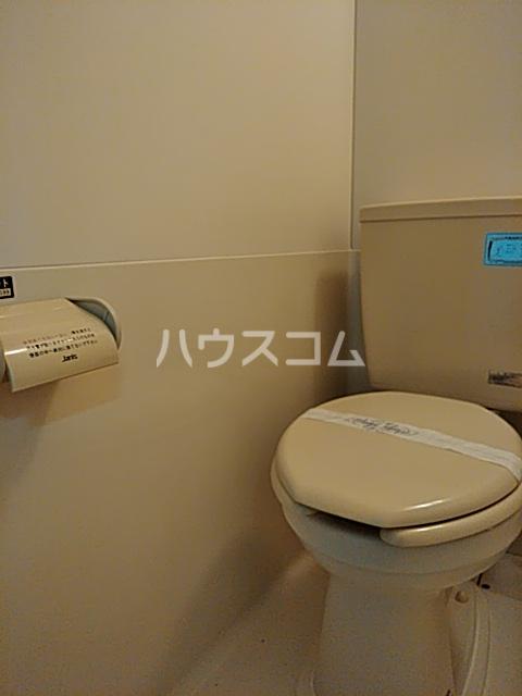 竹内コーポ 202号室のトイレ
