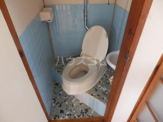 第二向陽ハイツ 105号室のトイレ