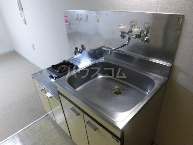 メゾンロビン 202号室のキッチン