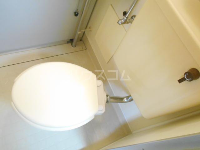 グロリアハイツ 205号室のトイレ