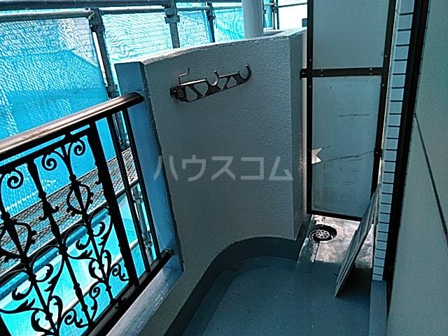 等々力フラワーガーデン 208号室のバルコニー