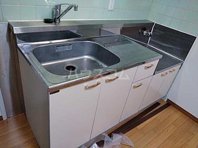等々力フラワーガーデン 208号室のキッチン