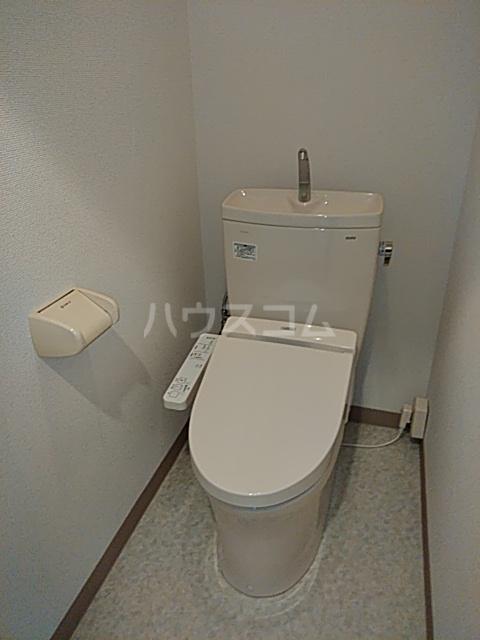 等々力フラワーガーデン 208号室のトイレ