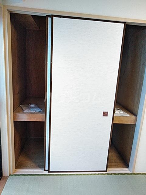 等々力フラワーガーデン 208号室の収納
