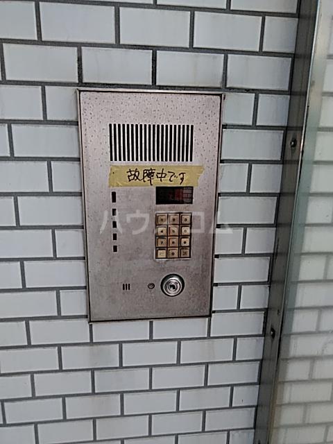 等々力フラワーガーデン 208号室のセキュリティ