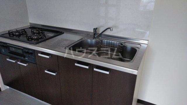 宝本宮ハイツ 501号室のキッチン