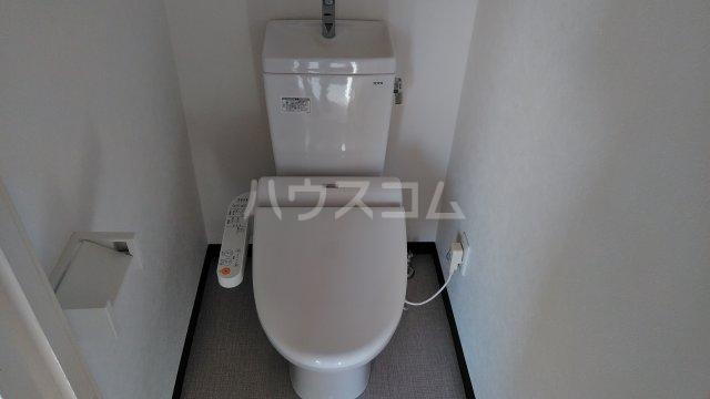 宝本宮ハイツ 501号室のトイレ