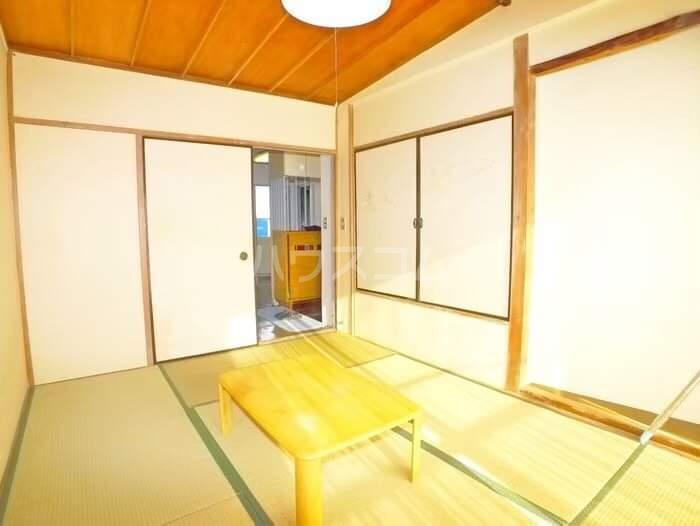海神マンション 403号室のバルコニー