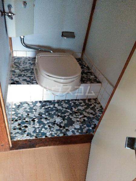 米井荘 205号室のトイレ