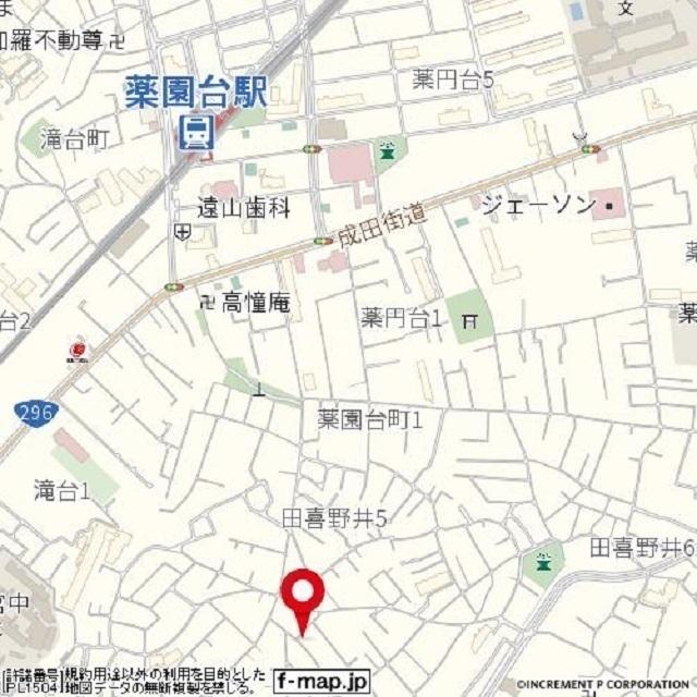 タイソウハイツ 202号室の地図