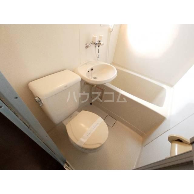タイソウハイツ 202号室のトイレ