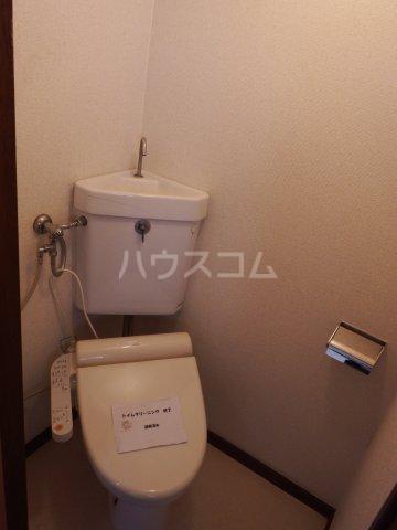 五香サンロードス 305号室のトイレ