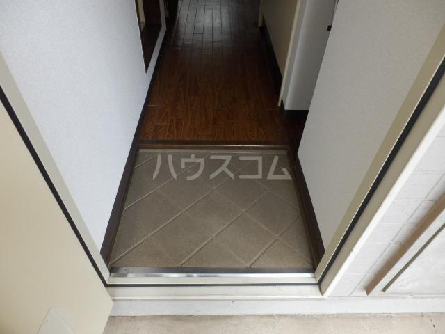 ベルコリーヌⅢ 208号室の玄関