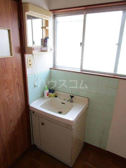 コーポ川崎 202号室の洗面所