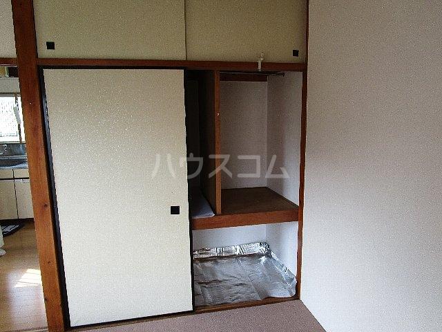 コーポ川崎 202号室の収納