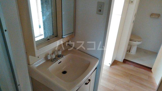 浅野ビル 6B号室の洗面所