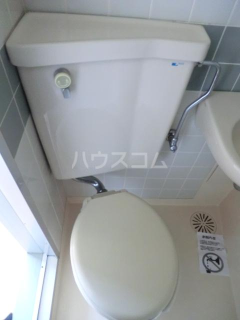 下坂ハイツ 1A号室のトイレ