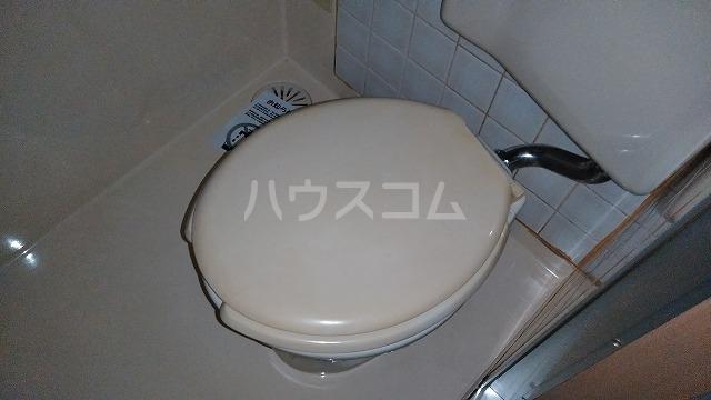 下坂ハイツ 1C号室のトイレ