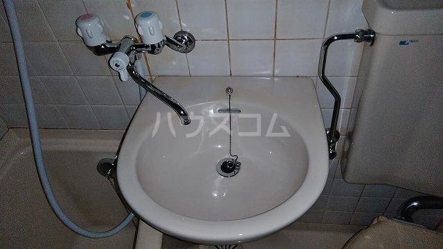 下坂ハイツ 1C号室の洗面所