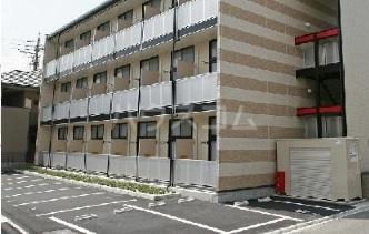 レオパレス桂Ⅱ 207号室の駐車場