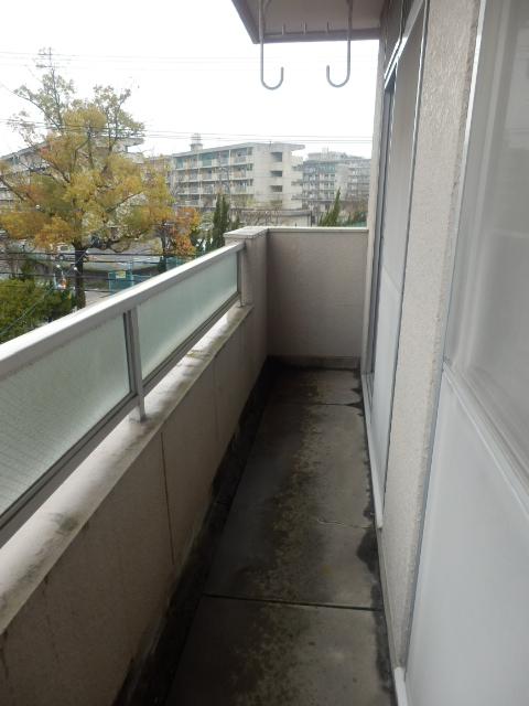 グリーンカーサ坂野 102号室のバルコニー