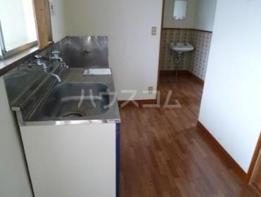 玉堤スカイハイム 202号室のキッチン