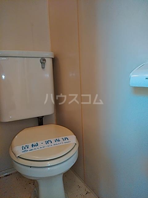 セジュール経堂1 102号室のトイレ