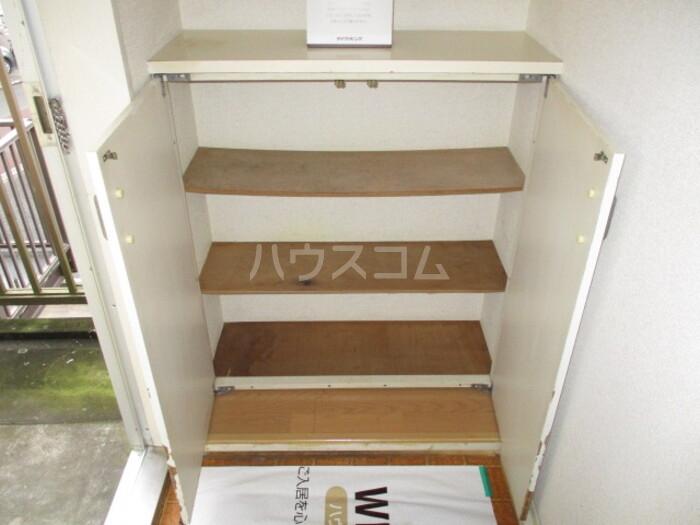 神取ハイツ 202号室の玄関