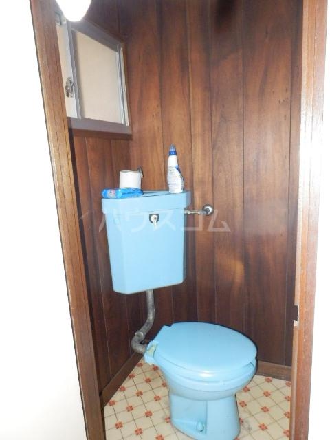 コーポ佐久間 207号室のトイレ