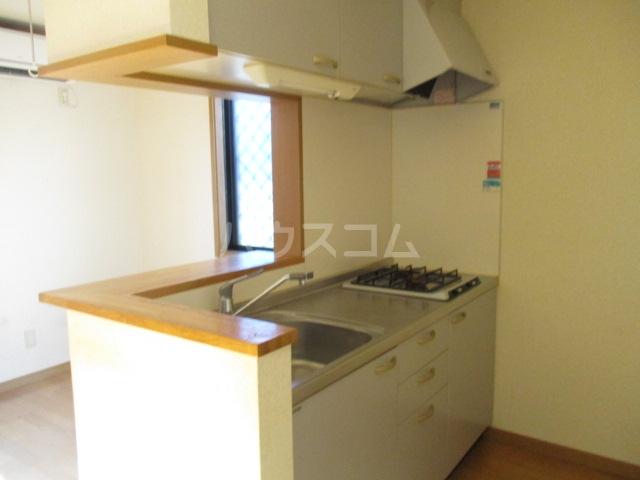 マ・メゾン 101号室のキッチン