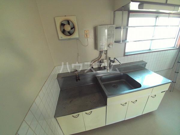 マンションTU 203号室のキッチン