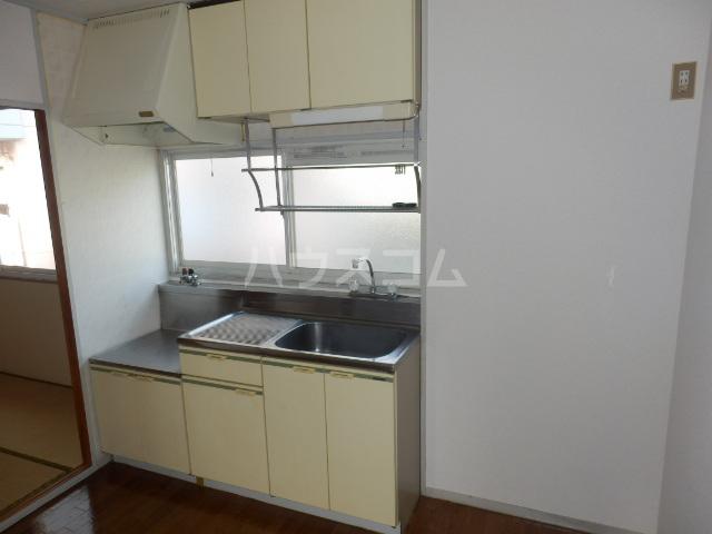 パークサイドS&S 203号室のキッチン